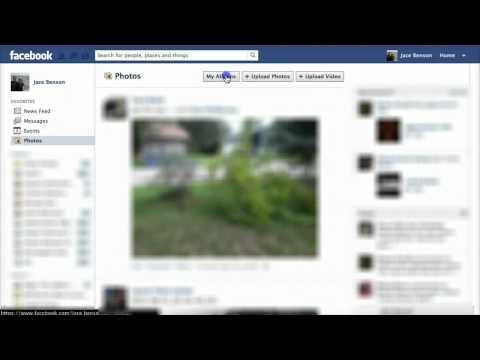Facebook - How to delete cover photos