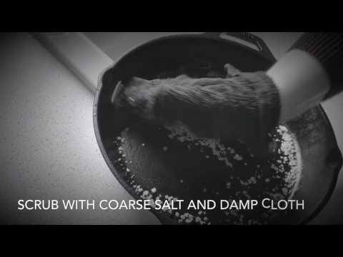 How to Clean and Season Cast Iron Skillet