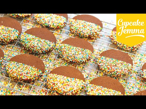 The Best Chocolate Cut-Out Cookies Ever   Cupcake Jemma