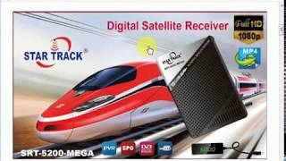 STAR TRACK 1100HD PLUS RECEIVER NEW AUTO ROLL SOFTWARE 24