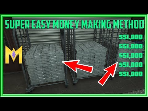 GTA Online 🤑 EASY Money Making Method - EASILY Make $51K In Minutes!