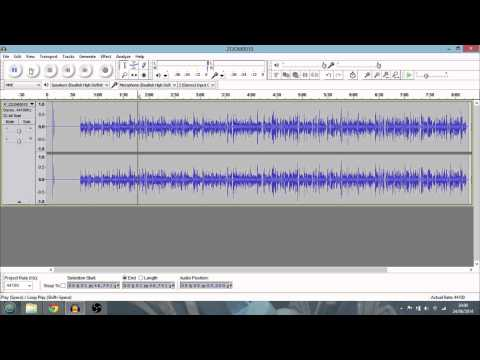 Cleaning Up & Amplifying Audio For Your Podcasts And Youtube Videos In Audacity