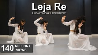 Leja Re | Easy Dance Steps | Dhvani Bhanushali | Deepak Tulsyan | G M Dance