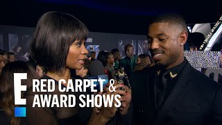 """Black Panther"" Cast React to Their Action Figures 