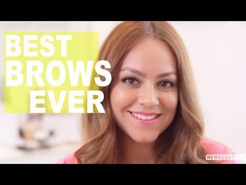 Get the Perfect Brows For Your Face Shape | NewBeauty Tips & Tutorials