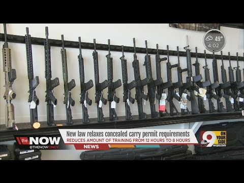 New law relaxes concealed carry permit requirements