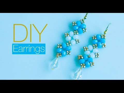 How to make earrings at home | DIY | jewelry making | Beads art
