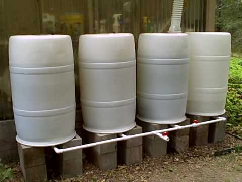 MNT's Rainwater Collection System with Manifold