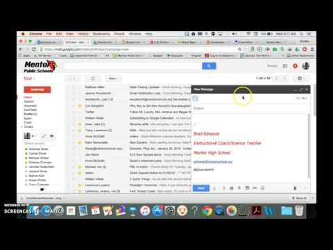 Creating Contact Groups in Gmail