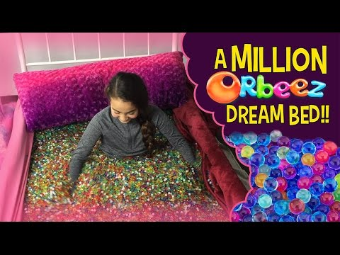 Orbeez Girls in a Million Orbeez Dream Bed | Official Orbeez