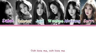 [Color Coded/Han/Eng/Rom] Dal Shabet - I'm Not