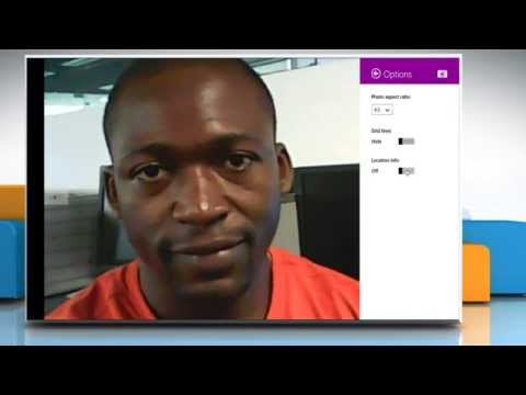 How to customize the settings of Camera app on a Windows® 8.1 PC