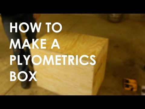 How to Make a DIY Plyometrics Box | The Art of Manliness