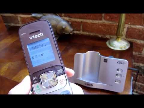 VTech Connect to Cell - How to Download and Delete Contacts