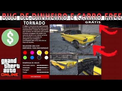 bug de DINHEIRO + Carro TUNADO de graça no GTA 5 ONLINE (PS3,PS4,XBOX360,ONE,PC)
