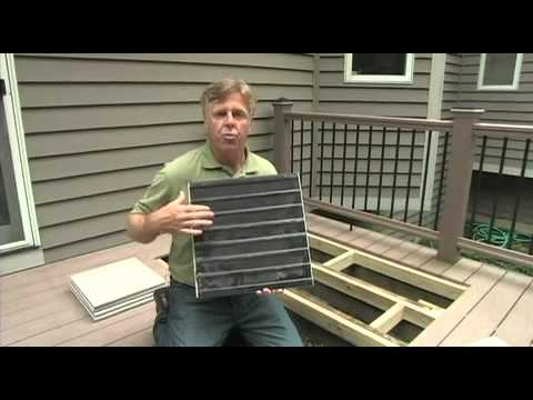 How to install Latitudes Deck Stones