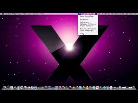 Camouflage an Application for your Mac