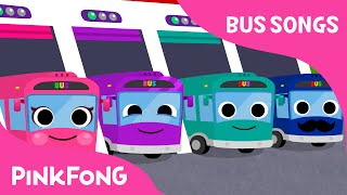 The Wheels on the Bus   Bus Songs   Car Songs   PINKFONG Songs