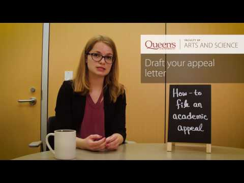 How to File an Academic Appeal