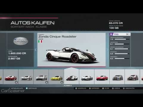 Forza 5 Full car list   1080p   all cars xbox one   alle Autos in forza 5