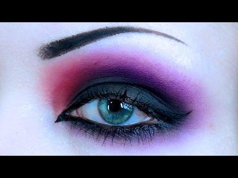 RED AND PURPLE SMOKE || Eyeshadow Tutorial