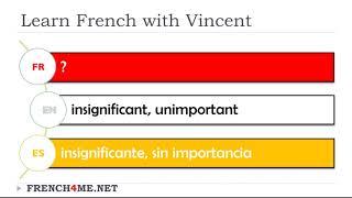 Exercise video # Vocabulary # French English Spanish # Masculine Adjectives # 7