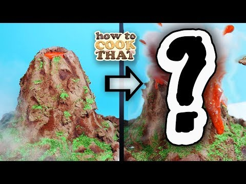 Will this volcano cake EXPLODE?