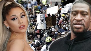 Ariana Grande, Billie Eilish, & More Protest After George Floyd Death