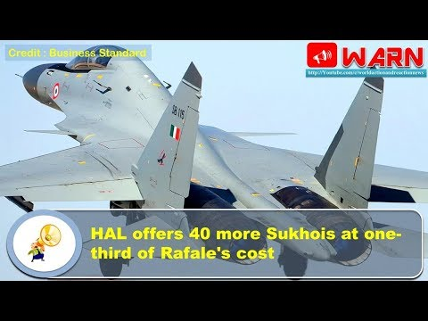 HAL offers 40 more Sukhois at one-third of Rafale's cost