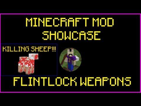 Minecraft Mod Showcase: FLINTLOCK WEAPONS!