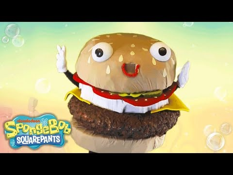 SpongeBob SquarePants | 'Krabby Patty' Official Music Video | Nick