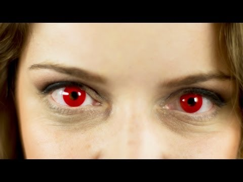 Red Demon Eyes Contact Lenses