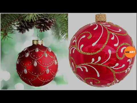 Custom Ornaments - Christmas Tree Ball Ornaments