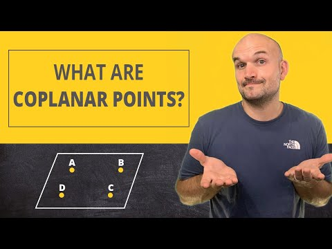 What are coplanar points