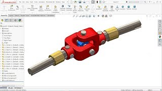 How to design Plummer Block Assembly in Solidworks - Plummer Block