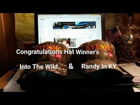 KVUSMC Gear / Hat GIVEAWAY 3 Celebrating 10 Years On YouTube Winners By KVUSMC