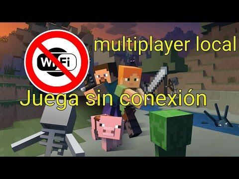 Como jugar minecraft pe con tus amigos sin internet 2017