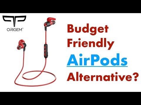 Origem HS-1 Bluetooth Headphones Review! (Budget Friendly AirPods Alternative?)