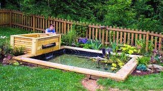 Download DIY Backyard Garden Pond Video