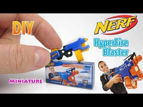 DIY Realistic Miniature Nerf N-Strike Blaster | DollHouse | No Polymer Clay!