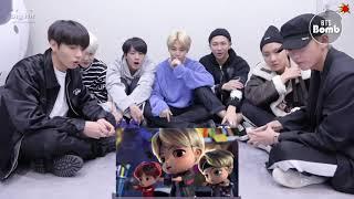 BTS 'Chibi Animation Tiny TAN - MIC DROP' reaction - BTS (방탄소년단)
