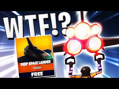 Fortnite - WHAT IS THIS GLIDER ITS INSANE !!!?