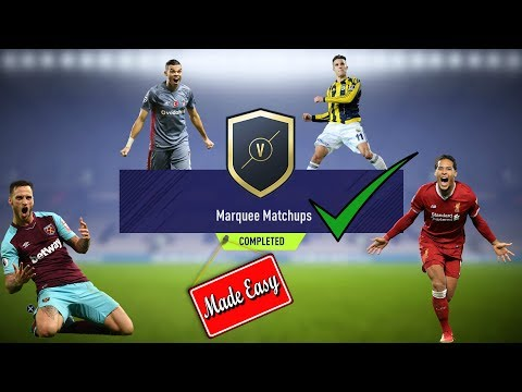 FIFA 18 Marquee Matchups Made Easy!  Feb 20th     We Pull a TOTW Walkout!!!