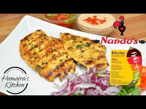 Nando's Peri Peri Chicken Steak Recipe in Urdu | Hindi | Juicy Chicken Steak | Humaira's Kitchen