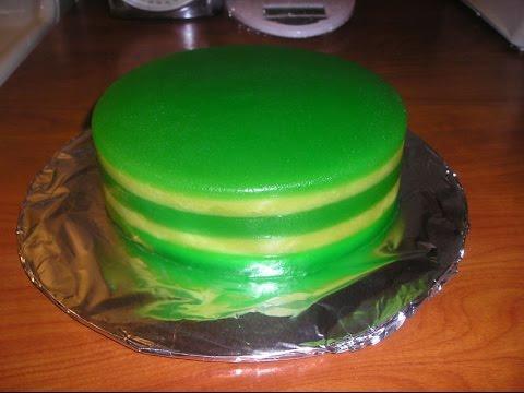 How To Make Banh Da Lon-How To Make Steamed Tapioca Layered Cake