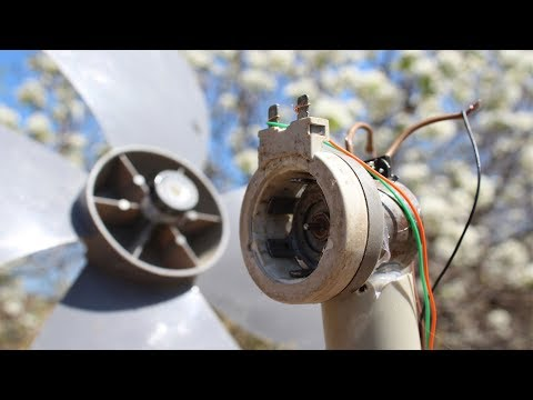 How To Make a ac and dc Wind Generator