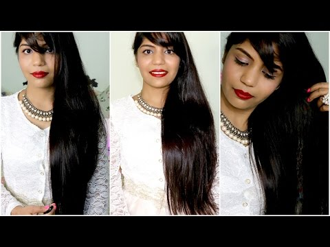 Coconut Milk Cream Hair Treatment For Long Hair | Shiny Smooth Hair Treatment | SuperPrincessjo