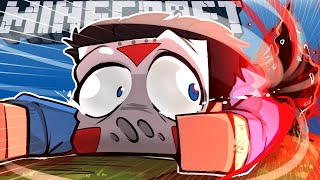 TRAPPED IN A NEW DIMENSION WITH VANOSS & TERRORISER (minecraft funny moments)