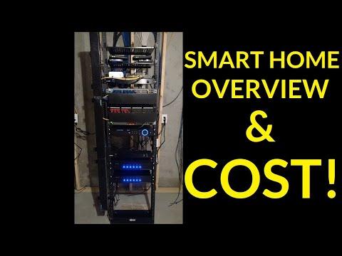 SMART HOME 2018 Overview & COST!! - Alexa, Audio, Lighting, Cameras, Wiring