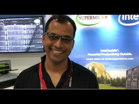 VMworld 2017 US - at Supermicro, Sim Upadhyayula, Sr. Director of Marketing, shows us what's new